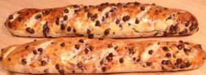 Astuces de grand mère Pain viennois aux pepites de chocolat
