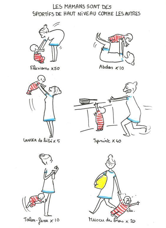 astuces de grand mere le sport des mamans