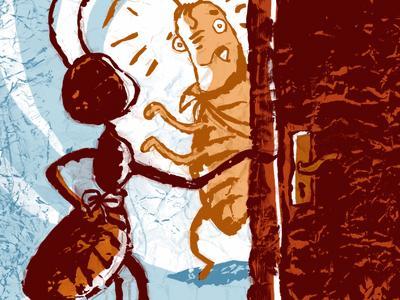 fourmis et carfard